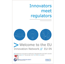 Leaflet: The European innovation offices network - innovators meet regulators