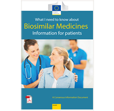 Leaflet - What you need to know about biosimilar medicines - Information for patients