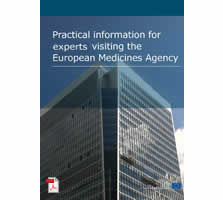 Practical informaiton for experts visiting the European Medicines Agency