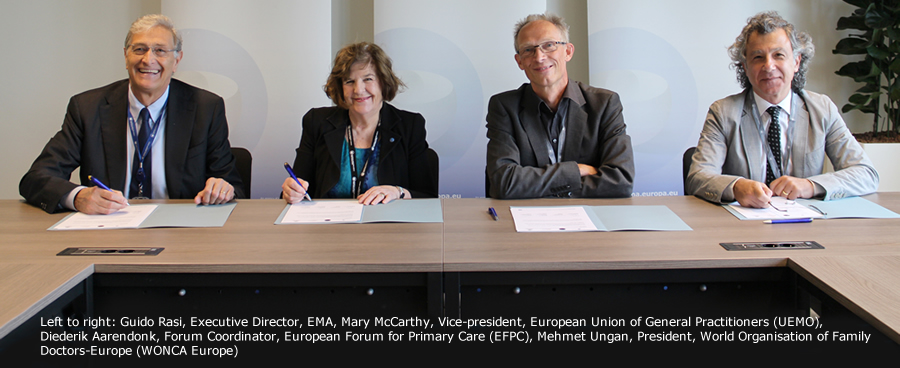 EMA and GPs joint agreement photo