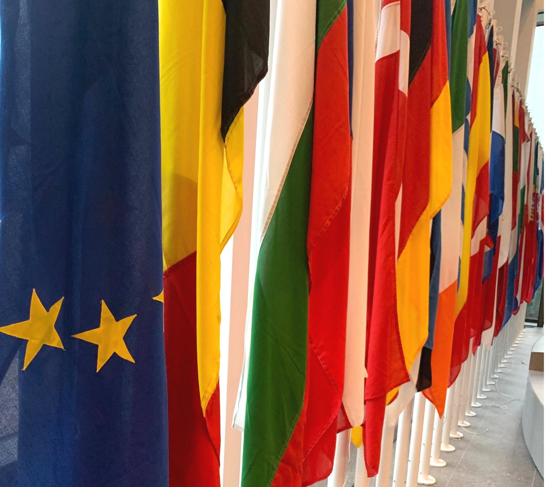 Flag ceremony - Relocation to Amsterdam slider