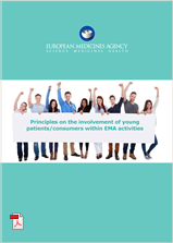 Principles for involvement of young patients consumers report cover