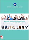 cover for principles on the involvement of u=young patients/consumers within EMA activities