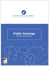 Public hearing - Guidance for participants