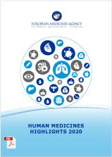 Human medicines highlights report 2020 cover