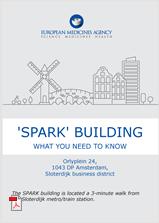 Spark building leaflet cover