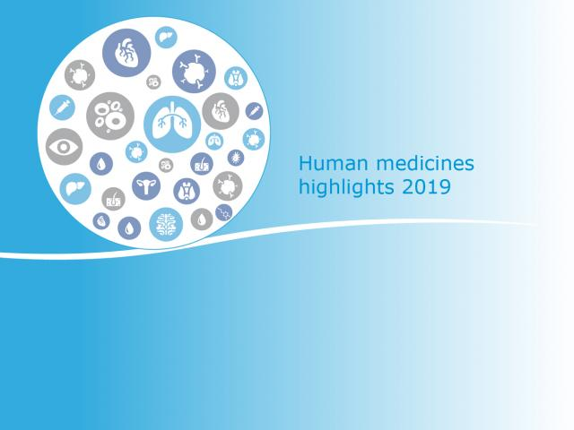 Human medicines: highlights of 2019