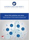 Guide to information on human medicines evaluated by EMA